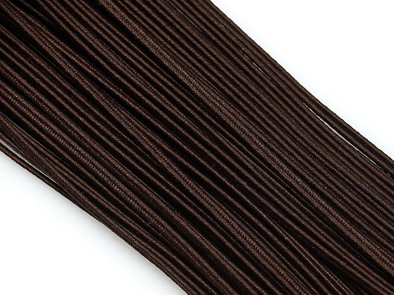 """Сутаж коричневый 2,5 мм, цвет: Коричневый, арт.: 134323 - купить в интернет-магазине """"Очарование бусинами"""""""